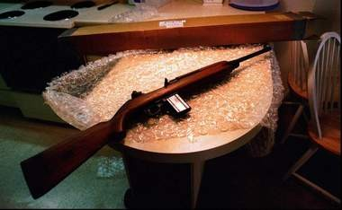 This file photo shows an M1 carabine. (AP photo)
