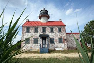 East Point Lighthouse in Heislerville, NJ.
