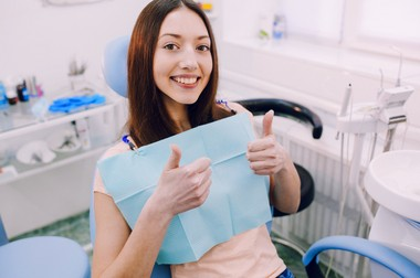 Regular dental checkups are one way to improve your oral health.