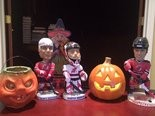 Devils players held their Halloween costume party Sunday in Hoboken. (Rich Chere/NJ Advance Media)