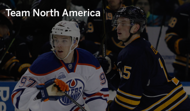 huge discount 5f024 f584b Connor McDavid, Jack Eichel on World Cup of Hockey young ...