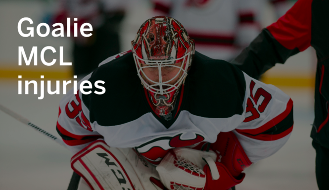 Other Nhl Goalies Have Dealt With Mcl Injury Like Devils Cory