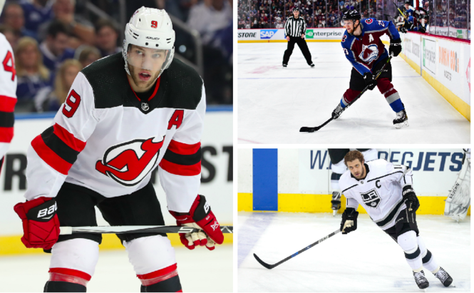 de13222f5e4 NHL Awards: Hart Trophy candidates Devils' Taylor Hall, Avalanche's Nathan  MacKinnon, Kings' Anze Kopitar | Who has best case for MVP?