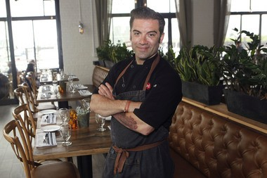 Ryan DePersio, who made his name in Montclair with Fascino, has opened Battello, an Italian seafood restaurant on Jersey City's waterfront.
