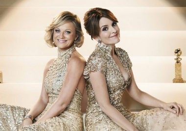 The Golden Globe ceremony will be hosted by Amy Poehler and Tina Fey tonight from the Beverly Hilton Hotel in Beverly Hills. It will air on NBC at 8 p.m.