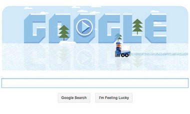 Google paid homage today to Frank Zamboni, the inventor of the modern ice resurfacer.