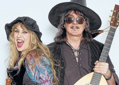 """I've learned to exist on very little sleep,"" says singer Candice Night of starting a family with her husband, guitarist Ritchie Blackmore."