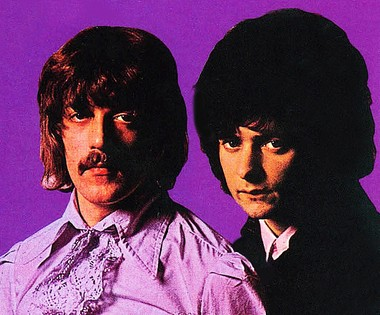 "Jon Lord and Blackmore from the cover of the 1968 album ""Shades of Deep Purple."" Blackmore has recorded a tribute to Lord, who died last year at age 71."