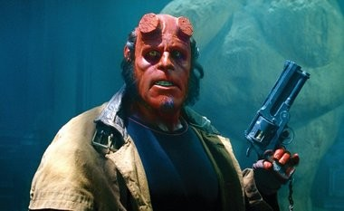 Frequent collaborator Ron Perlman livened up del Toro's 'Hellboy,' based on the comic-book hit.