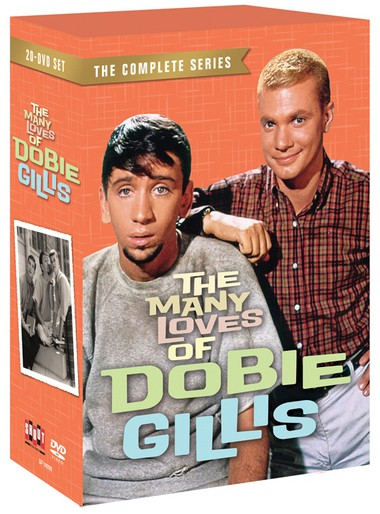 """Shout! Factory's new 21-disc DVD boxed set, """"The Many Loves of Dobie Gillis: The Complete Series"""""""