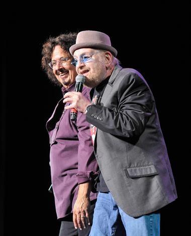 Flo (Mark Volman), left, and Eddie (Howard Kaylan) of the Turtles.