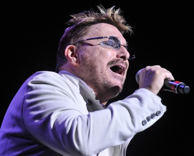 Chuck Negron provided some of the best moments at the Happy Together show in Red Bank on Saturday.