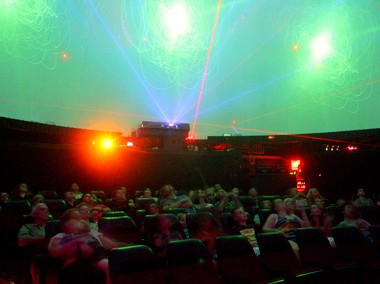 Laser rock concerts shine on at Branchburg planetarium - nj com
