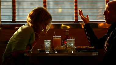 Irina Smirnova and Matt Sweetwood share an intimate early-morning breakfast at the Tick Tock Diner.