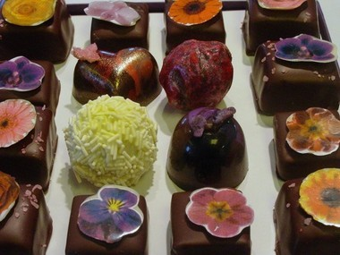 Chocolates from Oliver Kita Fine Confections in Rhinebeck.