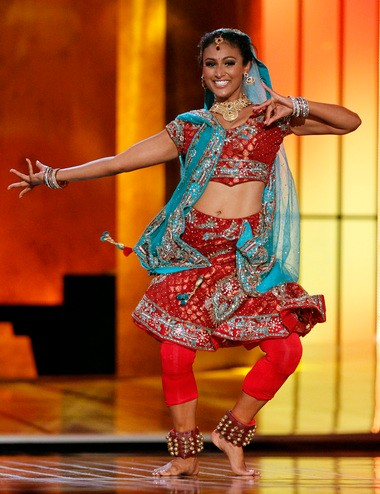 Nina Davuluri, who competed as Miss New York, just like the former Miss America Mallory Hagan, had classical Bollywood fusion dance as her talent.