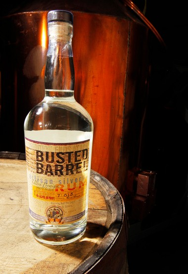Busted Barrel Silver Rum has been out since August.