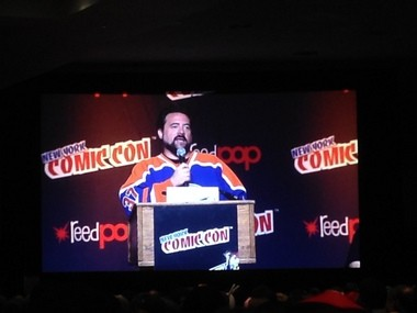 """During a panel at New York Comic Con today, where Central Jersey native Kevin Smith and his pals were taking questions for their AMC show """"Comic Book Men,"""" a fan asked about the progress of """"Clerks 3."""""""