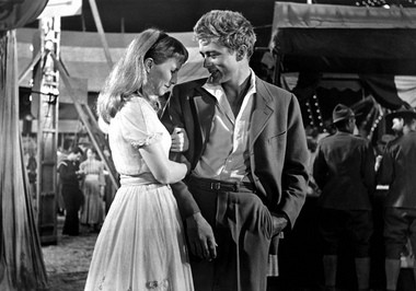 Dean shares a tender moment with fellow Actors Studio alum Julie Harris in 'East of Eden'