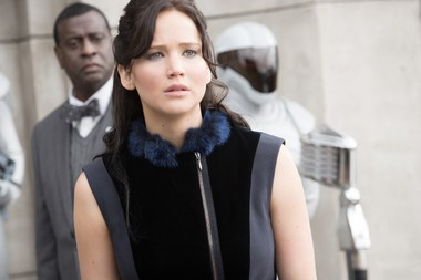 """Jennifer Lawrence's Katniss starts making the personal political in """"Catching Fire,"""" the story of the making of a revolutionary"""