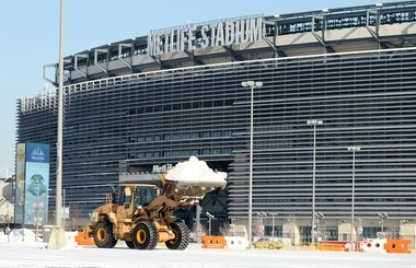 MetLife Stadium in East Rutherford, site of one major event of 2014: Super Bowl XLVIII.