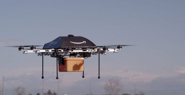 An Amazon Prime 'octocopter' drone. In 2014 we'll demand faster delivery, say trends experts, but will simultaneously worry about consumer privacy.