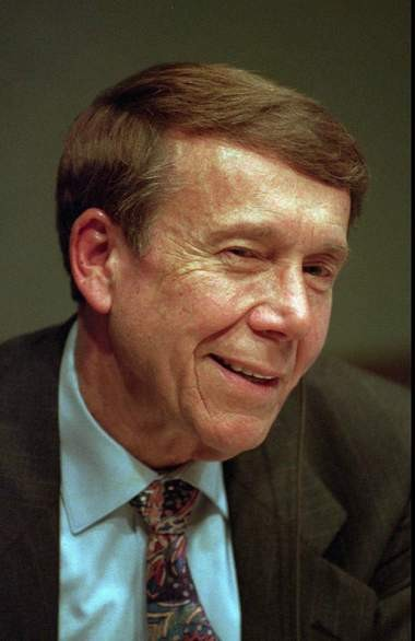 Bob Grant, seen here in a 1994 file photo, is considered the father of conservative talk radio. He died on New Year's Eve.