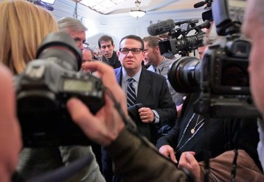 David Wildstein after an appearance in front of the state Assembly transportation committee Thursday.