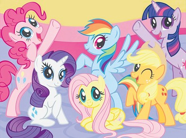 """Rhoades' response when asked why a grown man would love """"My Little Pony"""": """"Why not? The show is well-written; the voice acting is great; the animation is well done; and the jokes are funny and wholesome."""""""