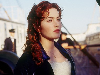 As Rose in 'Titanic,' a movie which literally changed Winslet's life