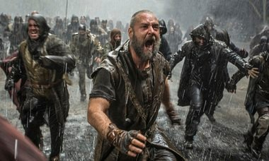Russell Crowe is a younger, angrier 'Noah' than we're used to in the upcoming epic