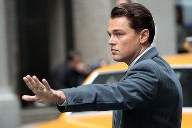 Leonardo DiCaprio, best actor nominee, 'The Wolf of Wall Street'