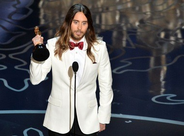 Jared Leto's acceptance speech was left out of a shortened version of the Oscars that aired a day after state TV in Russia canceled the live broadcast. The actor had mentioned Ukraine.