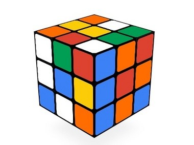 Today's Google Doodle is a playable Rubik's Cube, marking the 40th anniversary of the puzzle toy.