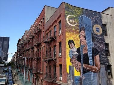 """""""The end of race / Libertad y Xul antes del desayunA3"""" for Los Muros Hablan NYC - New York, USA"""