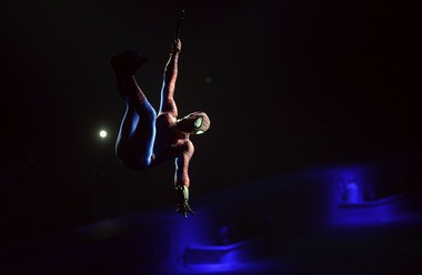 Spider-Man makes an appearance during a 'Marvel Universe Live!' show in Tampa, Fla.