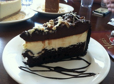 The Explosion cheesecake at Mara's Cafe & Bakery in Fanwood.