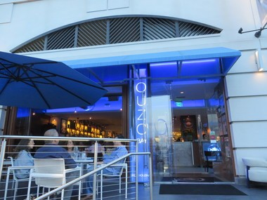 Ouzo Bay is one of the best restaurants in town for fresh whole fish and Maryland crab cakes