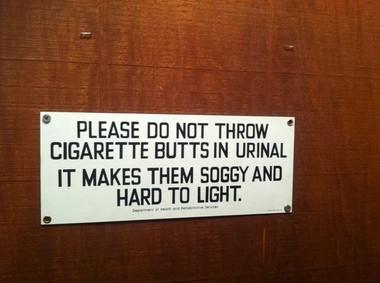 Sign, Marley's Gotham Grill