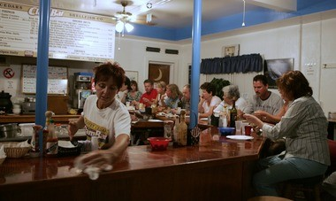 Harvey Cedars Shellfish Co. Clam Bar in Beach Haven is a time-warp experience