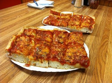 The Sicilian at Bruno's in Clifton was the best slice I had all year
