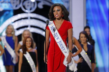 Miss New Jersey, Cierra Kaler-Jones, during preliminary competition at the Miss America pageant, held at Atlantic City's Boardwalk Hall. (Alex Remnick | NJ Advance Media for NJ.com)