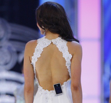 Miss Idaho, Sierra Sandison, a type 1 diabetic, said she was proud to spread diabetes awareness by showing her insulin pump, which was clipped to her evening gown and swimsuit during competition. She was propelled into the semifinal by an 'America's Choice' vote. (Alex Remnick | NJ Advance Media for NJ.com)