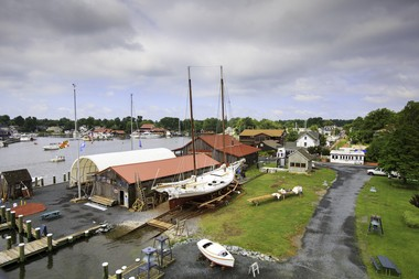 Discover living maritime history at the Chesapeake Bay Maritime Museum