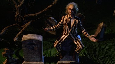 'Beetlejuice' may have been the first indication Keaton wasn't going to play it safe.