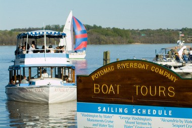 See Alexandria from a river tour along the Potomac.