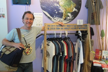 Doug Harris specializes in eco-friendly brands that give back at his shop State & Union.