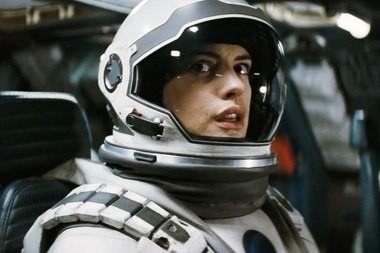 In 'Interstellar,' Anne Hathaway joins Matthew McConaughey for a mission beyond Saturn.