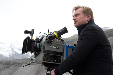 """Christopher Nolan works on location, with the epic """"Interstellar."""""""