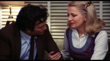 Rowlands with Peter Falk, in the stunning 'A Woman Under the Influence'.
